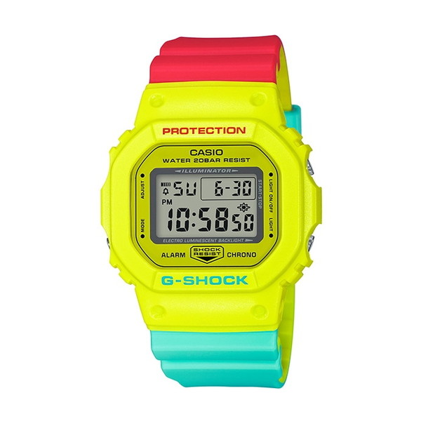 【送料無料】CASIO(カシオ) DW-5600CMA-9JF G-SHOCK ブリージー・ラスタカラー [クォーツ腕時計(メンズ)]