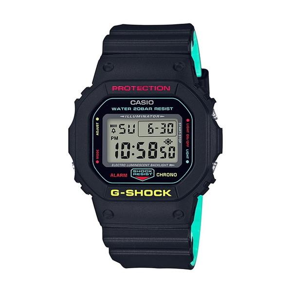 【送料無料】CASIO(カシオ) DW-5600CMB-1JF G-SHOCK ブリージー・ラスタカラー [クォーツ腕時計(メンズ)]