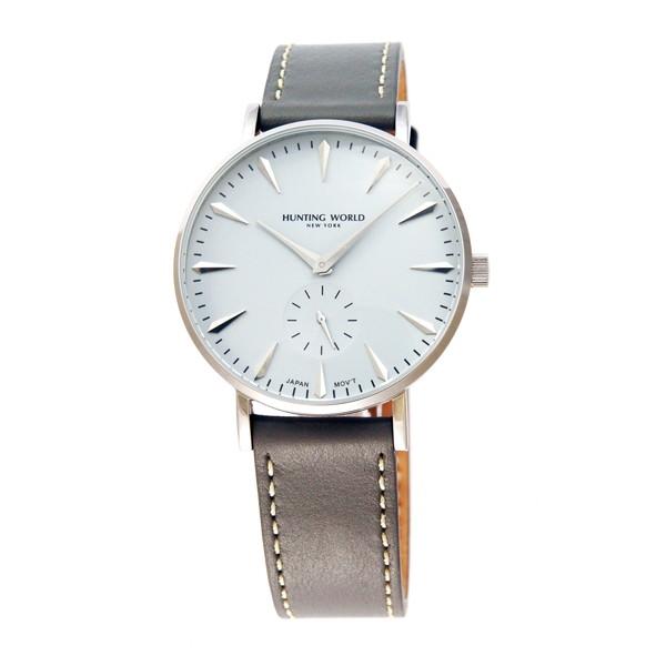 【送料無料】HUNTING WORLD AUSTERE オースティア HW950SGY グレー [クォーツ腕時計 (メンズウオッチ)]