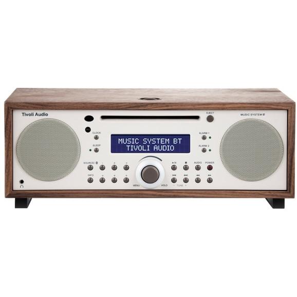 チボリオーディオ Tivoli Audio MSYBT-1529-JP Tivoli Music System BT Classic Walnut/ベージュ [Bluetooth対応ミニコンポ CD/AM/FM ] MSYBT1529JP