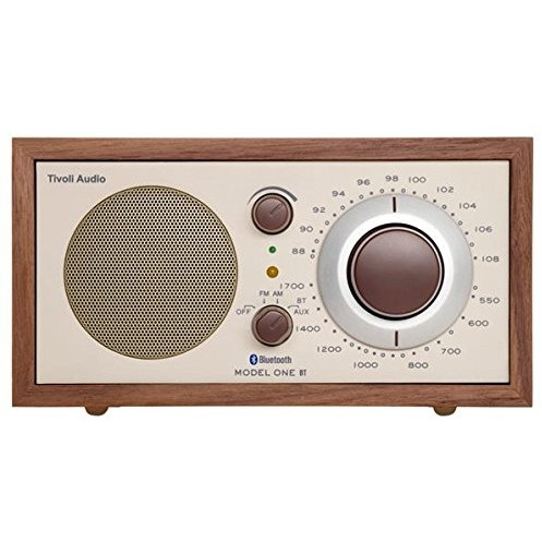 【送料無料】Tivoli Audio M1BT-1652-JP Tivoli Model One BT Classic Walnut/Beige [モノラルテーブルラジオ] M1BT1652JP M1BT1652JP