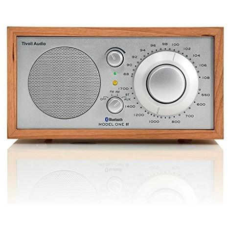 【送料無料】Tivoli Audio M1BT-1654-JP Tivoli Model One BT Cherry/Silver [モノラルテーブルラジオ]