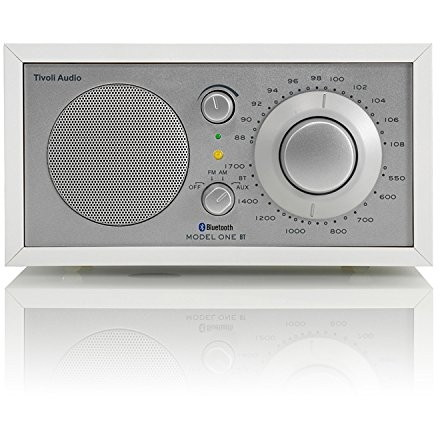 Tivoli Audio M1BT-1770-JP Tivoli Model One BT White/Silver [モノラルテーブルラジオ]