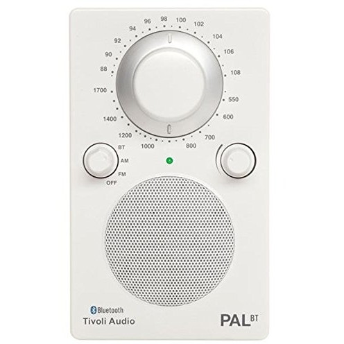 【送料無料】Tivoli PAL Audio White PALBT-1456-JP Tivoli PAL BT Glossy White Audio [Bluetoothワイヤレス AM/FMラジオスピーカー], gaRon:58534d84 --- sohotorquay.co.uk