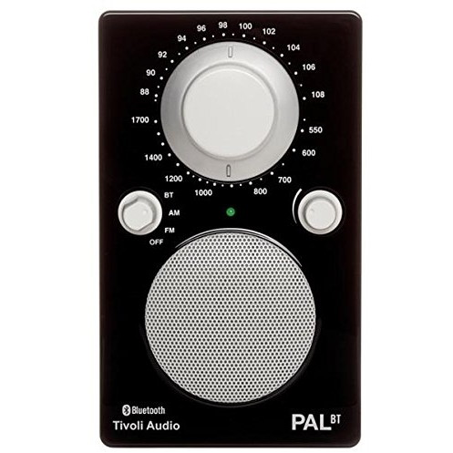 Tivoli Audio PALBT-1448-JP Tivoli PAL BT Glossy Black [Bluetoothワイヤレス AM/FMラジオスピーカー]