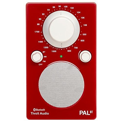 【送料無料】Tivoli Audio PALBT-1771-JP Tivoli PAL BT Glossy Red [Bluetoothワイヤレス AM/FMラジオスピーカー]