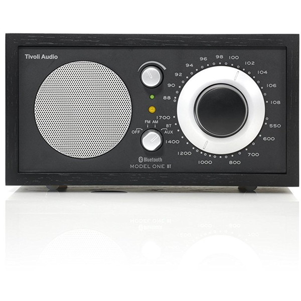 【送料無料】Tivoli Audio M1BT-1435-JP Tivoli Model One BT Black/Black [モノラルテーブルラジオ]