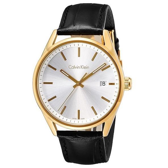 Calvin Klein(カルバンクライン) K4M215C6 ゴールド×ブラック フォーマリティ [クォーツ腕時計 (メンズウオッチ)] 【並行輸入品】
