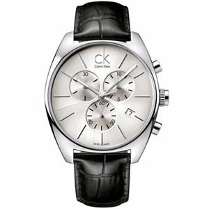 【送料無料】Calvin Klein(カルバンクライン) K2F27120 シルバー×ブラック Exchange(エクスチェンジ) [クォーツ腕時計 (メンズウオッチ)] 【並行輸入品】