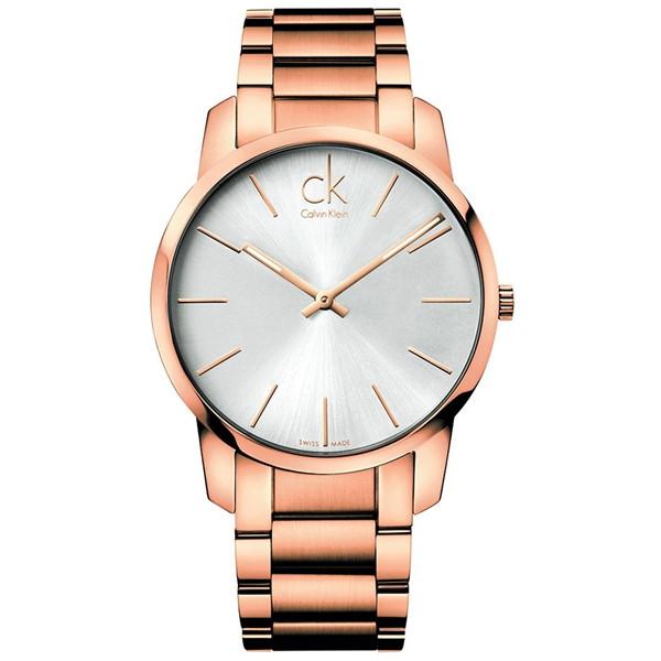 【送料無料】Calvin Klein(カルバンクライン) K2G21646 ローズゴールド CITY(シティ) [クォーツ腕時計 (メンズウオッチ)] 【並行輸入品】