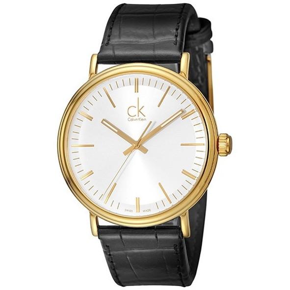 Calvin Klein(カルバンクライン) K3W215C6 シルバー×ブラック サラウンド [クォーツ腕時計 (メンズウオッチ)] 【並行輸入品】