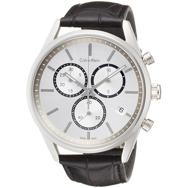 【送料無料】Calvin Klein(カルバンクライン) K4M271C6 シルバー×ブラック フォーマリティ [クォーツ腕時計 (メンズウオッチ)] 【並行輸入品】