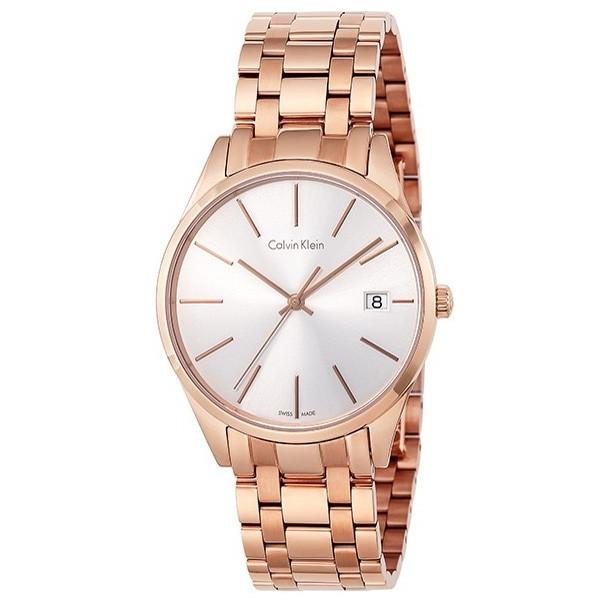【送料無料】Calvin Klein(カルバンクライン) K4N23646 ピンクゴールド タイム [クォーツ腕時計 (レディースウオッチ)] 【並行輸入品】