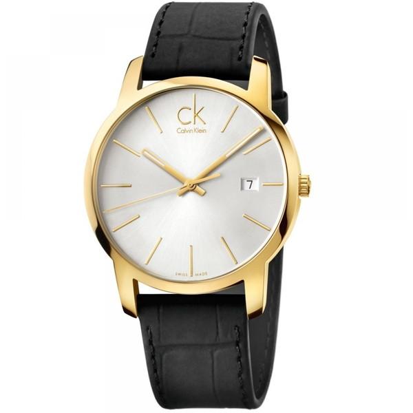 Calvin Klein(カルバンクライン) K2G2G5C6 シルバー×ブラック CITY(シティ) [クォーツ腕時計 (メンズウオッチ)] 【並行輸入品】