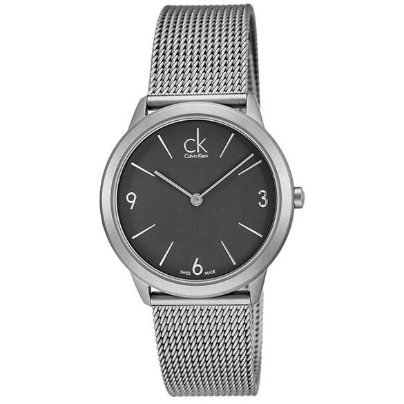 【送料無料】Calvin Klein(カルバンクライン) K3M52154 ブラック×シルバー ミニマル [クォーツ腕時計 (メンズウオッチ)] 【並行輸入品】