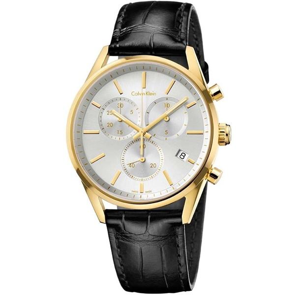 【送料無料】Calvin Klein(カルバンクライン) K4M275C6 K4M275C6 シルバー×ブラック フォーマリティ [クォーツ腕時計 (メンズウオッチ)]【並行輸入品】, ジークゴルフ:5b410308 --- sunward.msk.ru