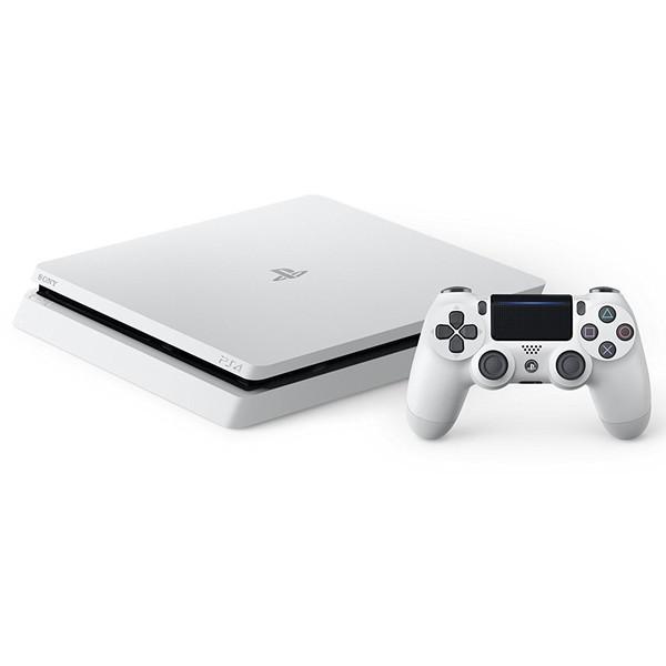 【送料無料】SIE CUH-2100BB02 グレイシャー・ホワイト プレイステーション4 HDD 1TB [ゲーム機本体]