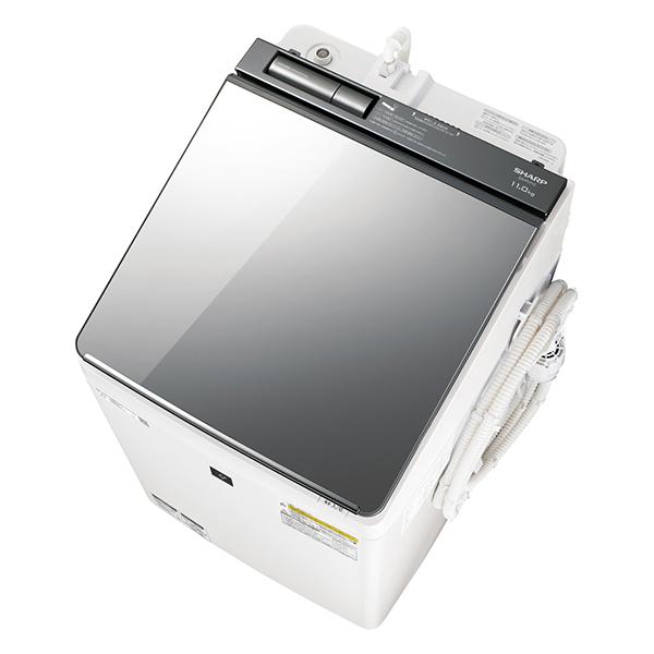 【送料無料】【2018年7月19日発売】 シャープ sharp SHARP プラズマクラスター 洗濯乾燥機 (洗濯11kg/乾燥6kg)] ES-PU11C シルバー
