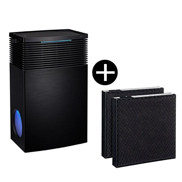 【送料無料】cado AP-C710S-BK + FL-C710 交換用フィルターセット ステンレスブラック [空気清浄機(~65畳まで)]