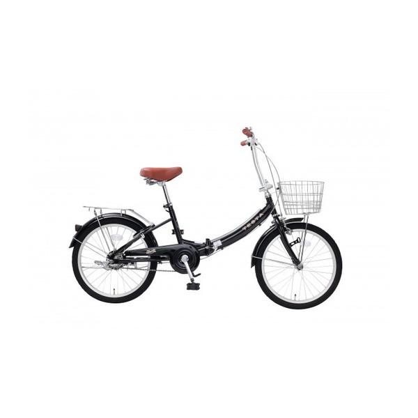 【送料無料】TOP ONE FCU200-68-BK ブラック [折りたたみ自転車(20インチ)]【同梱配送不可】【代引き不可】【沖縄・北海道・離島配送不可】