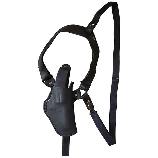 【送料無料】イーストA ショルダーホルスター 牛革製 ブラック サムブレイクタイプ リボルバー用 S231 BK