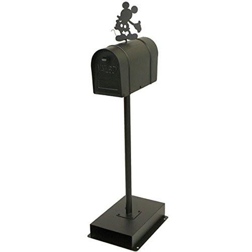 【送料無料】セトクラフト SD-6055-BK [スタンドポスト ミッキーマウス アメリカンタイプ ブラック]【同梱配送不可】【代引き不可】【沖縄・北海道・離島配送不可】