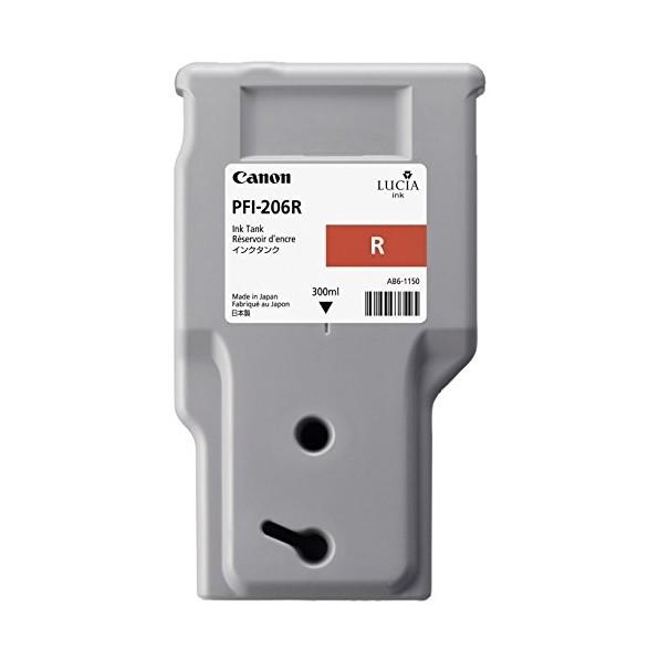 【送料無料】CANON PFI-206R レッド [インクタンク] 【同梱配送不可】【代引き・後払い決済不可】【沖縄・北海道・離島配送不可】