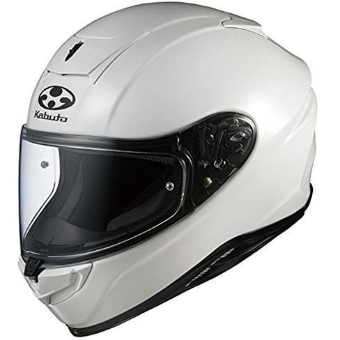 【送料無料】OGK KABUTO AEROBLADE-5 パールホワイト M [フルフェイスヘルメット]