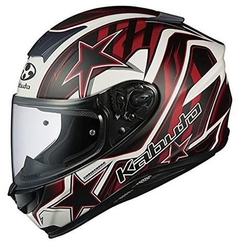 【送料無料】OGK KABUTO AEROBLADE-5 VISION フラットブラックレッド XL [フルフェイスヘルメット]