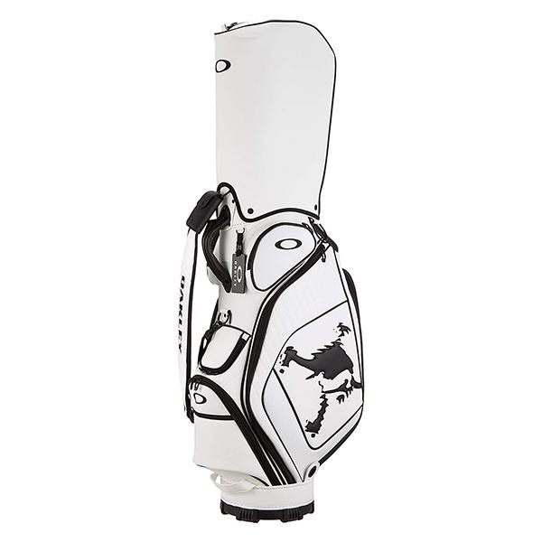 【送料無料】OAKLEY(オークリー) スカルゴルフバッグ 12.0 キャディバッグ 921396JP-104 ホワイト/ブラック 【日本正規品】