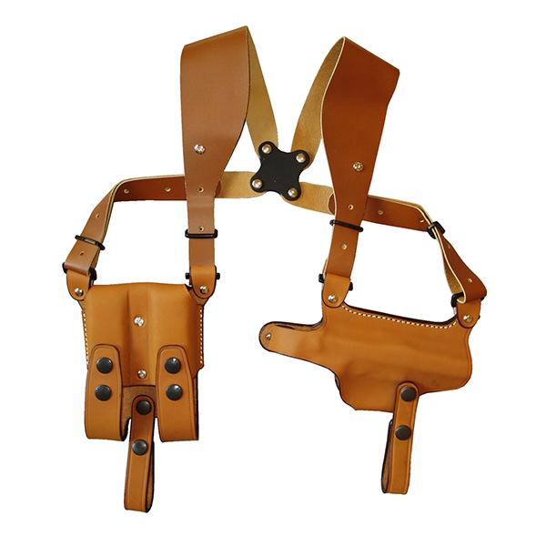 【送料無料】イーストA ショルダーホルスター 牛革製 ブラウン ホリゾンタル M92F用 281 Br