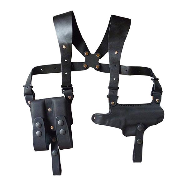 イーストA ショルダーホルスター 牛革製 ブラック ガバメント用282 BK