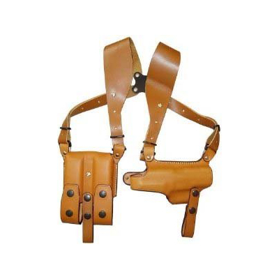【送料無料】イーストA ショルダーホルスター 牛革製 ブラウン ホリゾンタル P226用 283 Br
