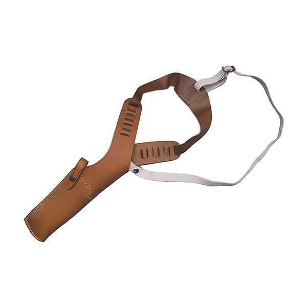 【送料無料】イーストA ショルダーホルスター 牛革製 ブラウン 4.5インチ用294 Br