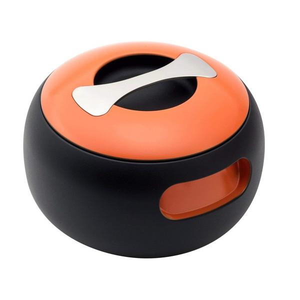 【送料無料】穴織カーボン OV001SO スパニッシュオレンジ オーバル [カーボンポット(両手鍋・2.7L)]