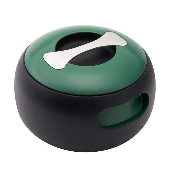 【送料無料】穴織カーボン OV001BG ブリティッシュグリーン オーバル [カーボンポット(両手鍋・2.7L)]