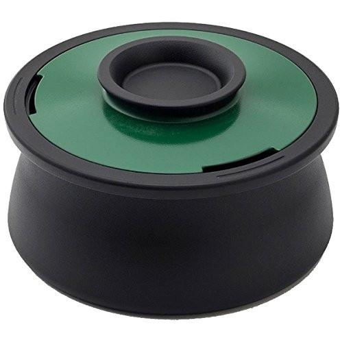 【送料無料】穴織カーボン VO001BG ブリティッシュグリーン ボリューム [カーボンポット(両手鍋・2.1L)]