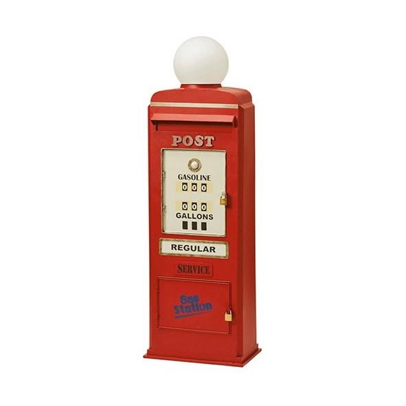【送料無料】セトクラフト SI-2858-RD レッド GAS PUMP [スタンドポスト]【同梱配送不可】【代引き不可】【沖縄・北海道・離島配送不可】