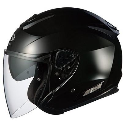 【送料無料】OGK KABUTO ASAGI ブラックメタリック M [オープンフェイスヘルメット]