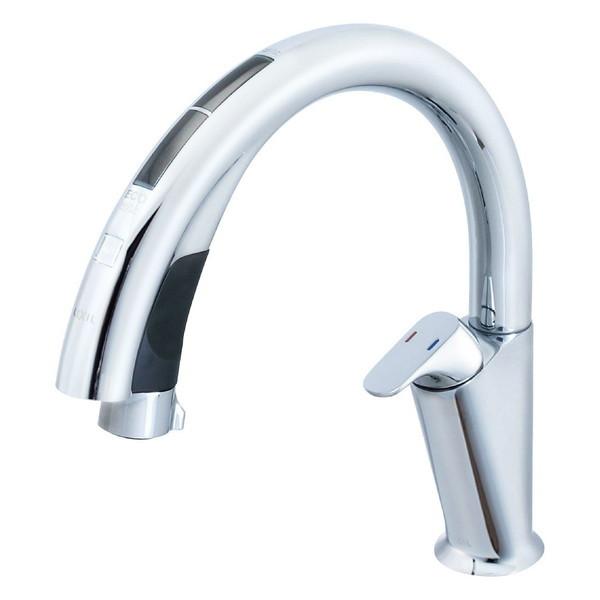 【送料無料】LIXIL SF-NA491S ナビッシュハンズフリー [キッチン用タッチレス水栓(エコセンサー付)]