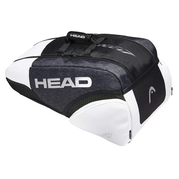 【送料無料】テニスバッグ ヘッド(HEAD) ジョコビッチモデル Djokovic 9R Supercombi ラケット9本収納 バックパックキャリーシステム テニス用品