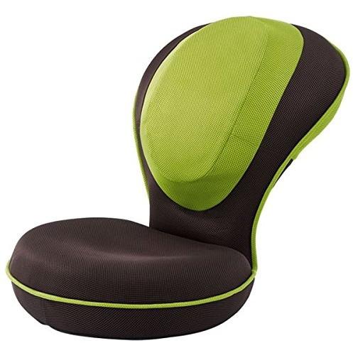 【送料無料】ドリーム 背筋がGUUUN 美姿勢座椅子 グリーン