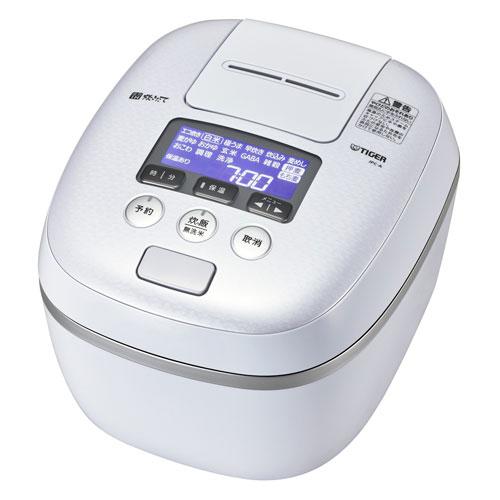 【送料無料】TIGER JPC-A182-WE アーバンホワイト 炊きたて [圧力IH炊飯器(1升炊き)]
