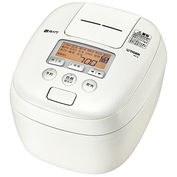 【送料無料】TIGER JPC-B102-WM ミルキーホワイト 炊きたて [圧力IH炊飯器(5.5合炊き)]