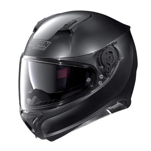 【送料無料】NOLAN D98336 フラットブラック/10 N87 ソリッド [フルフェイスヘルメット(L)]