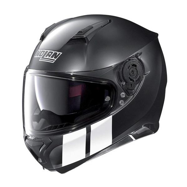 【送料無料】NOLAN D98345 フラットブラック/26 N87 マーツ [フルフェイスヘルメット(L)]