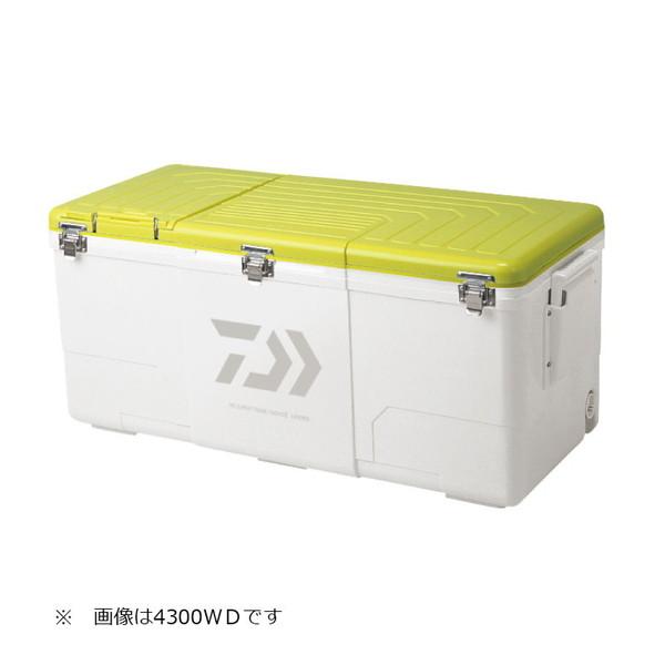 【送料無料】DAIWA NSスーパートランク大将2 3500WD イエロー [釣り用 クーラーボックス(35L)]