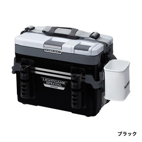 【送料無料】SHIMANO FX LIGHT GMSP220 LF-L22N 黒 フィクセル・ライト ゲームスペシャル 220 [釣り用 クーラーボックス(22L)]