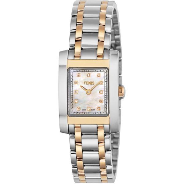 【送料無料】FENDI F702240D ホワイトパール クラシコ [クォーツ腕時計(レディースウオッチ)] 【並行輸入品】