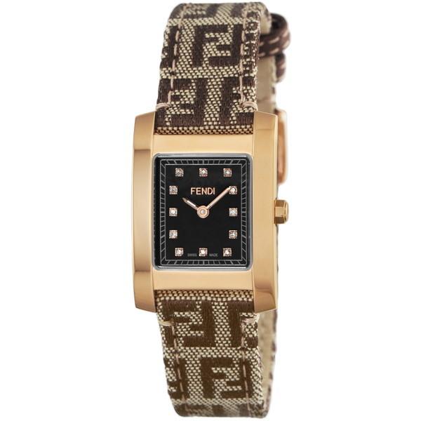 【送料無料】FENDI F704222DF ブラウン クラシコ [クォーツ腕時計(レディースウオッチ)] 【並行輸入品】